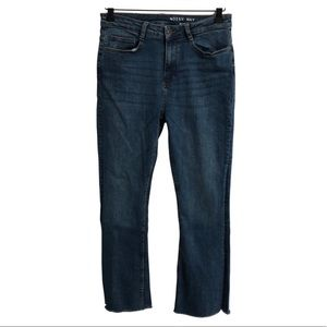 """Noisy May """"Jane"""" cropped flared jeans."""